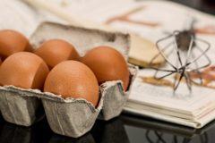 Jajca pogosto povzročijo alergijske reakcije.