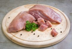 Svinjsko meso je tudi pogost alergen.