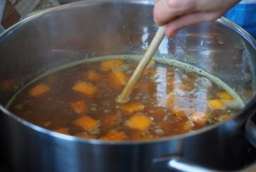 Kostna juha za pse