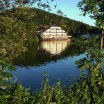 Jezero Črnava – sprehod s psom v okolici Ljubljanje