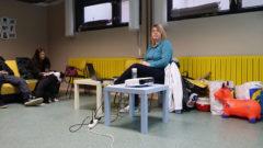 Alja Willenpart, inštruktorica v pasji šoli ZA PSA, ki se izobražuje pri nas in v tujini.