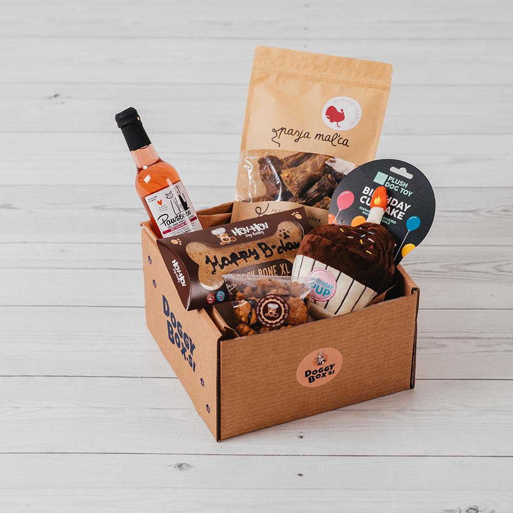 doggybox paket za rojstni dan